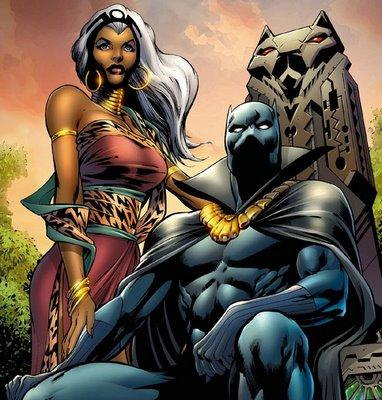 black panther and storm cb bp